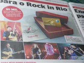 Jornal Extra - George Benson no Rock In Rio 2013