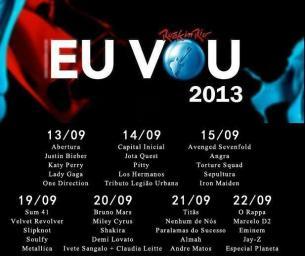 Rock in Rio 2013 - Supostos convidados