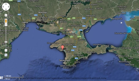 Yevpatoria  - Crimea - |Imagem: Google Maps